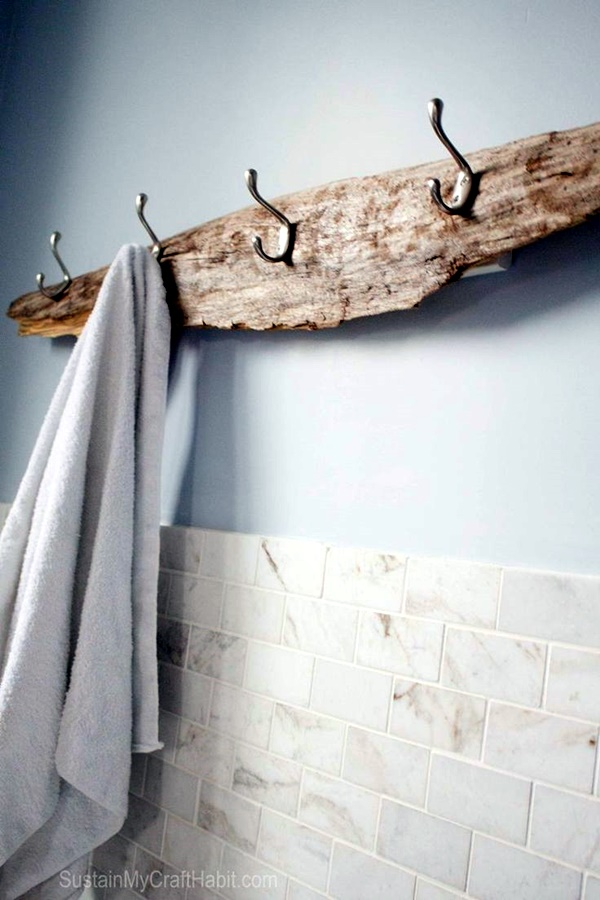 Cool and Creative DIY Coat Rack Ideas (25)
