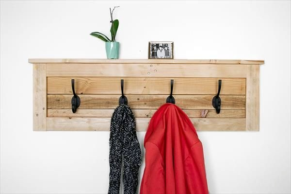 Cool and Creative DIY Coat Rack Ideas (32)