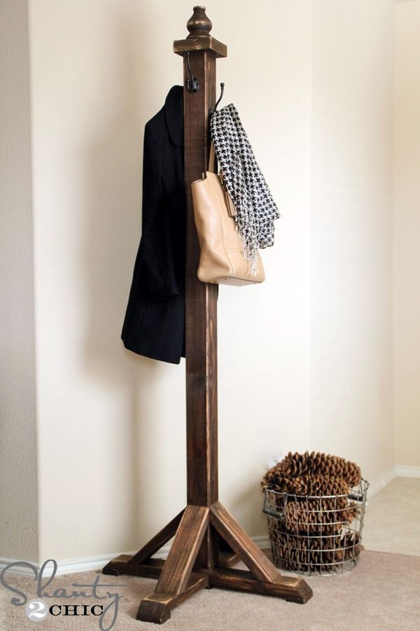 Cool and Creative DIY Coat Rack Ideas (34)