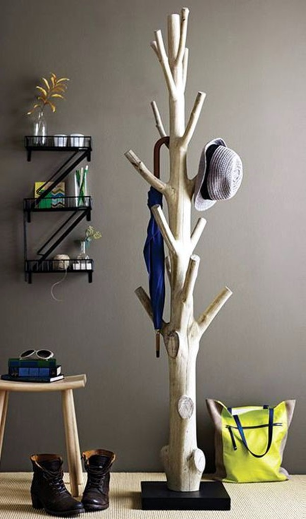 Cool and Creative DIY Coat Rack Ideas (40)