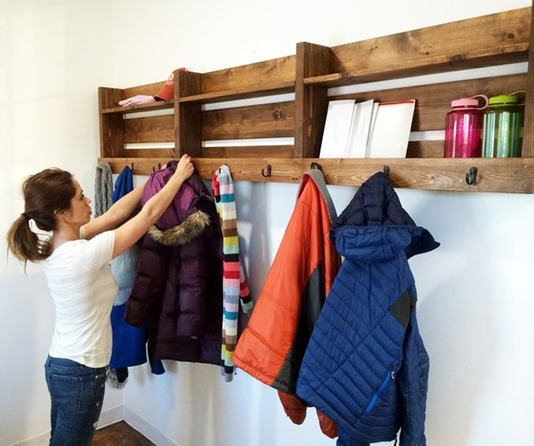 Cool and Creative DIY Coat Rack Ideas (5)