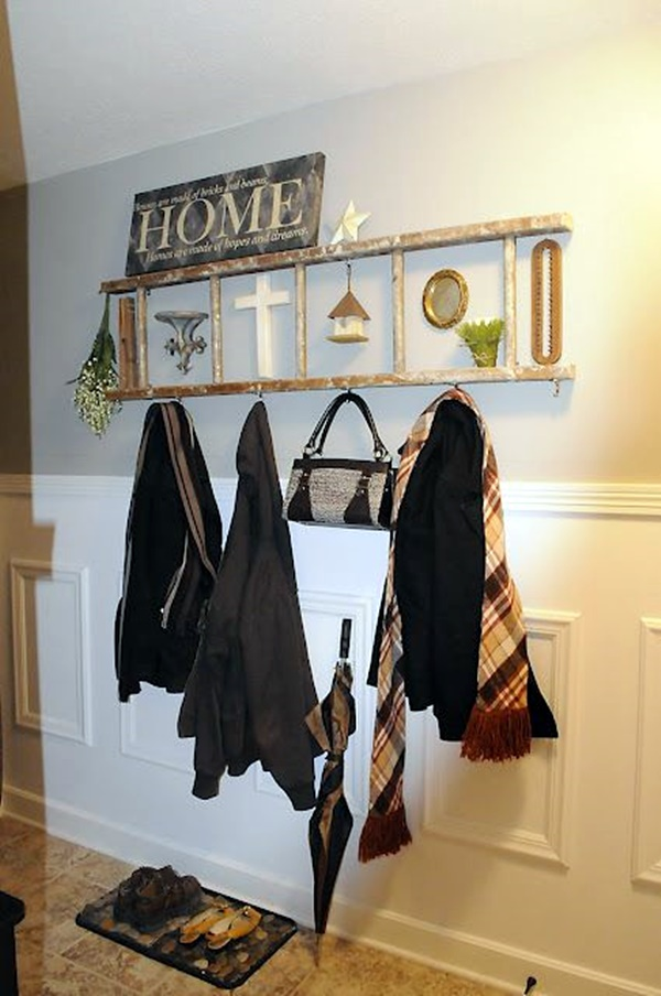 Cool and Creative DIY Coat Rack Ideas (8)