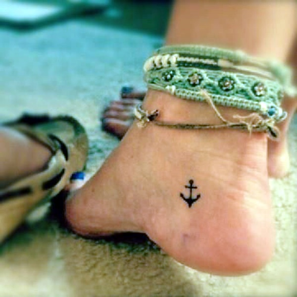 Cute and Tiny Ankle Tattoo Designs For 2016 (14)
