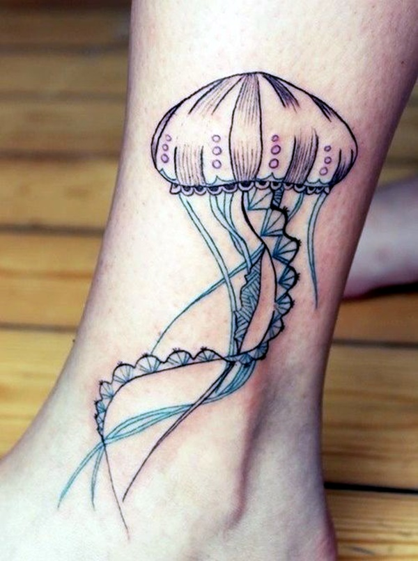 Cute and Tiny Ankle Tattoo Designs For 2016 (16)