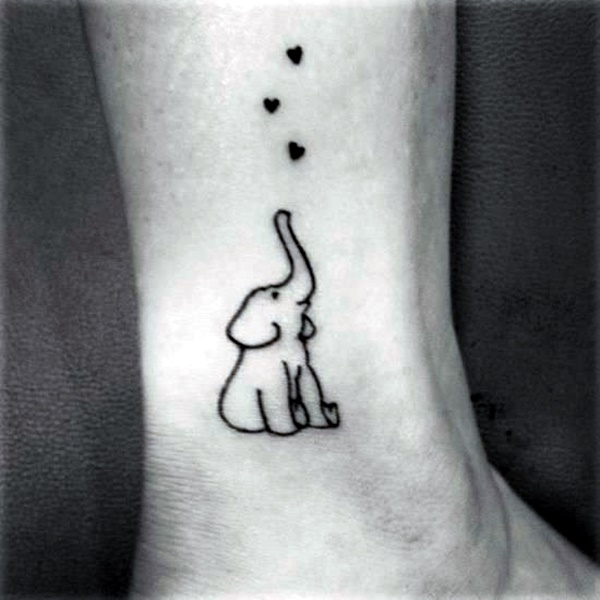 Cute and Tiny Ankle Tattoo Designs For 2016 (2)