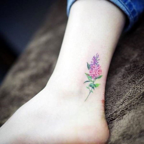 Cute and Tiny Ankle Tattoo Designs For 2016 (28)