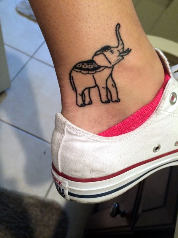 Cute and Tiny Ankle Tattoo Designs For 2016 (29)