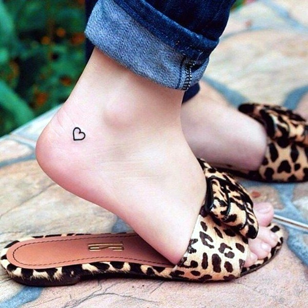Cute and Tiny Ankle Tattoo Designs For 2016 (3)