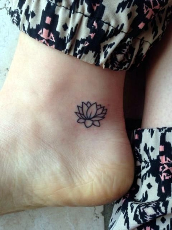 Cute and Tiny Ankle Tattoo Designs For 2016 (36)