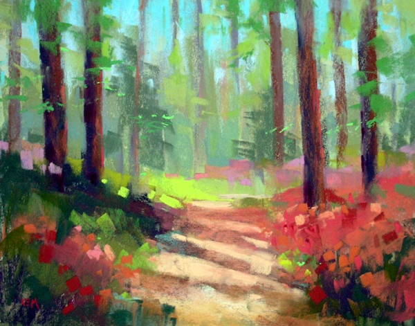 Easy easy pastel paintings For Beginners (29)