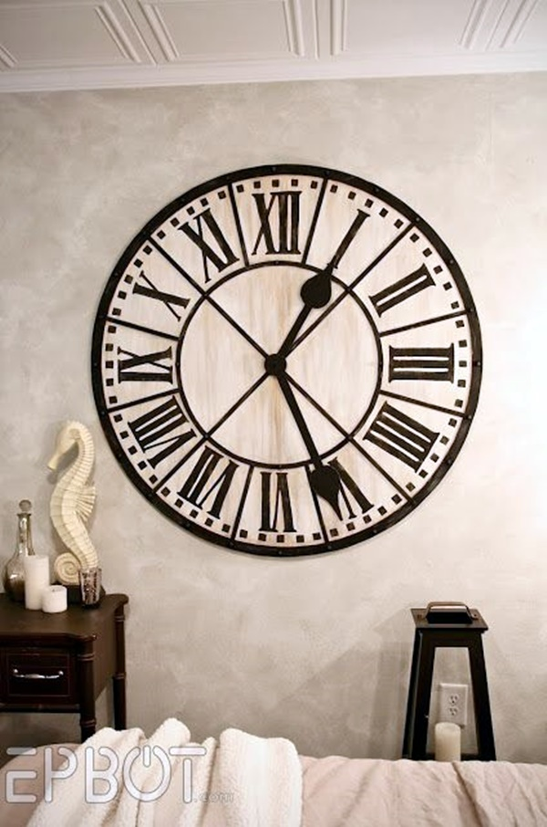 Fabulas Wall Clocks to embrace Your Home Entrance (17)