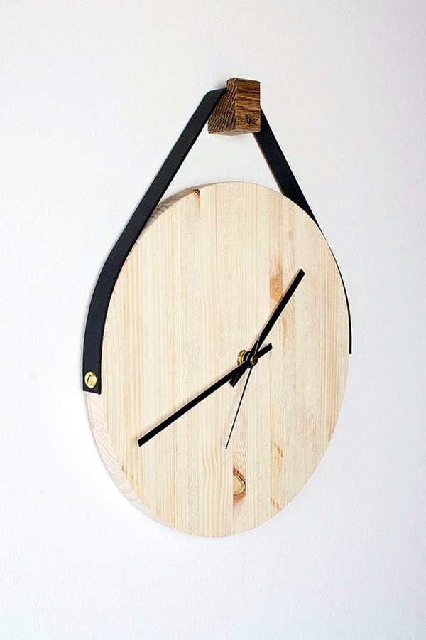 Fabulas Wall Clocks to embrace Your Home Entrance (18)