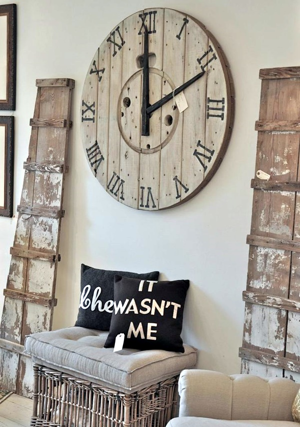 Fabulas Wall Clocks to embrace Your Home Entrance (24)