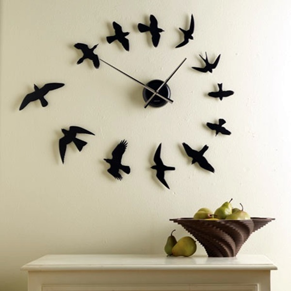 Fabulas Wall Clocks to embrace Your Home Entrance (26)