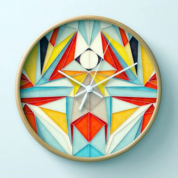 Fabulas Wall Clocks to embrace Your Home Entrance (37)