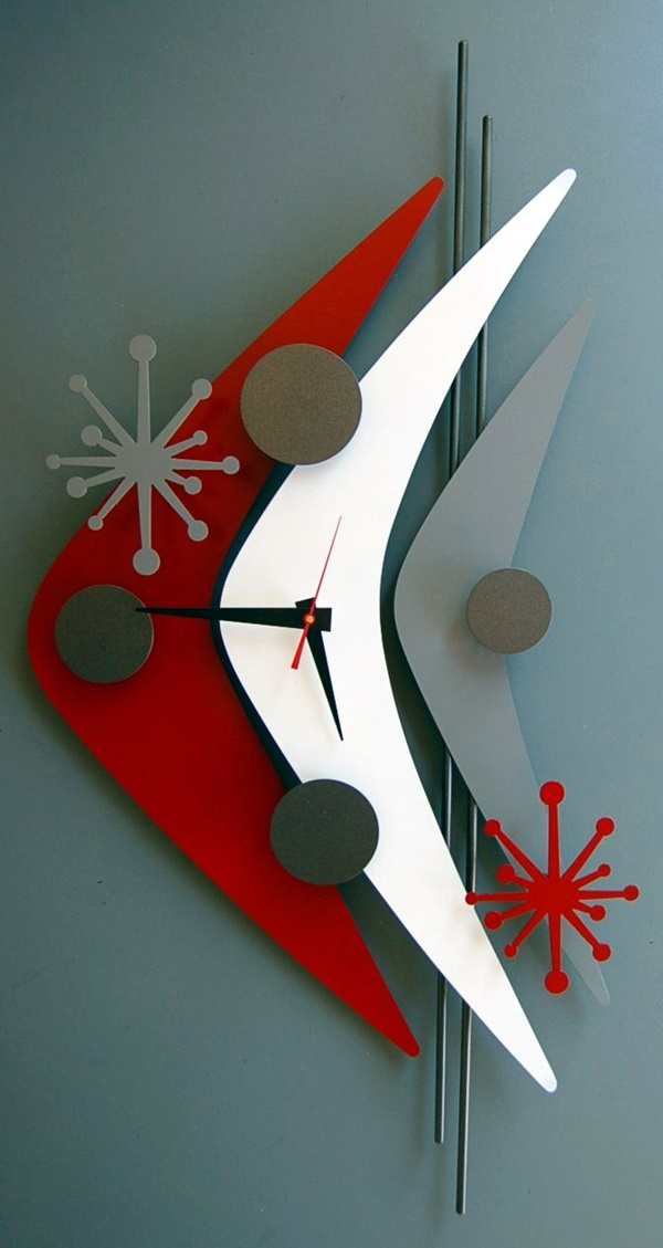 Fabulas Wall Clocks to embrace Your Home Entrance (38)