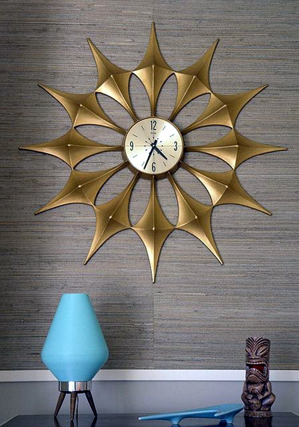 Fabulas Wall Clocks to embrace Your Home Entrance (7)