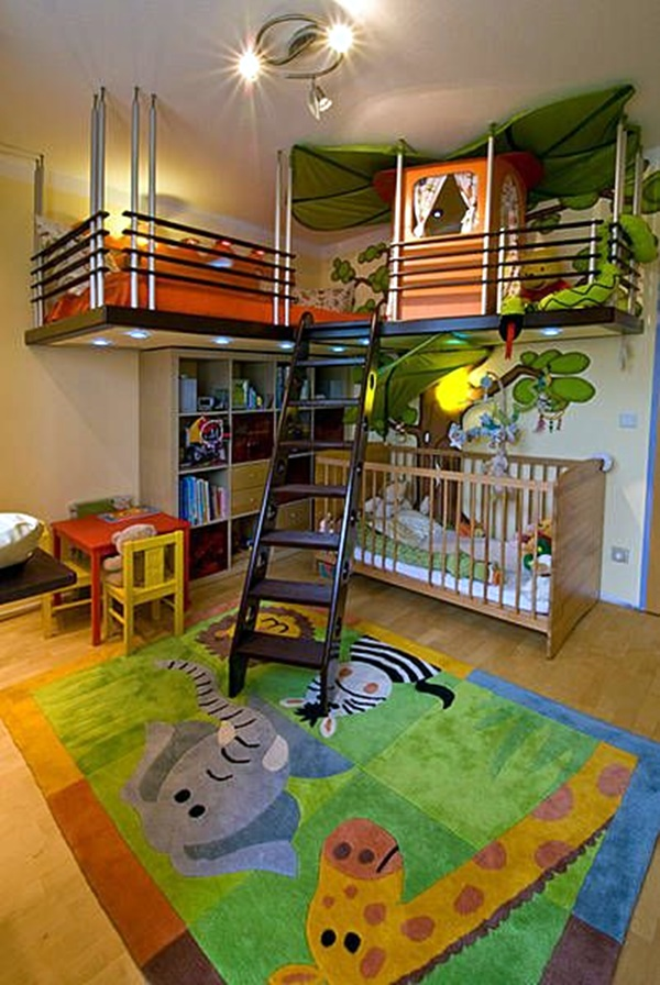 Ideas For Your Kid's Dream Bedroom (15)