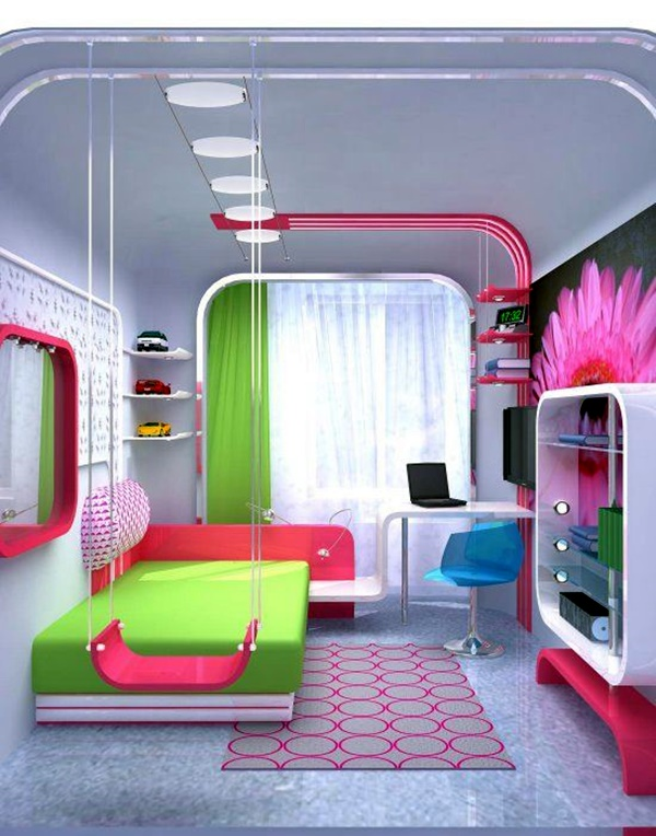 Ideas For Your Kid's Dream Bedroom (5)