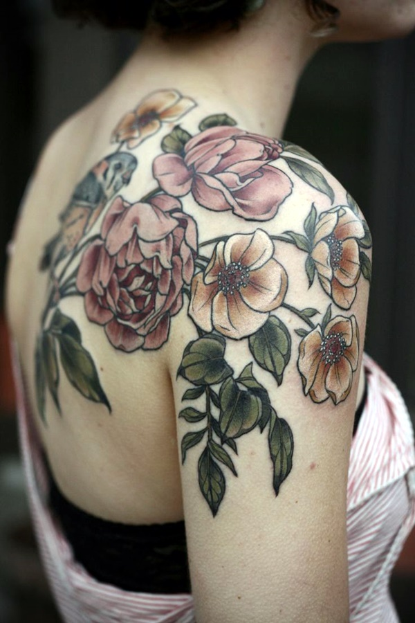 Just Perfect Shoulder Tattoos to Try in 2016 (21)