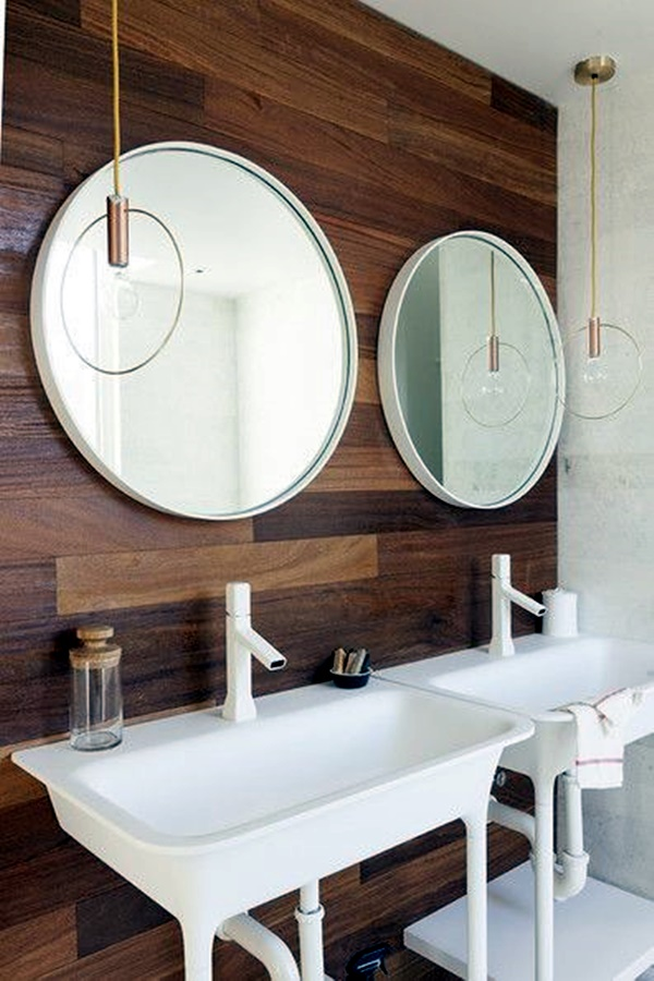 Refreshing Bathroom Mirror Designs (10)