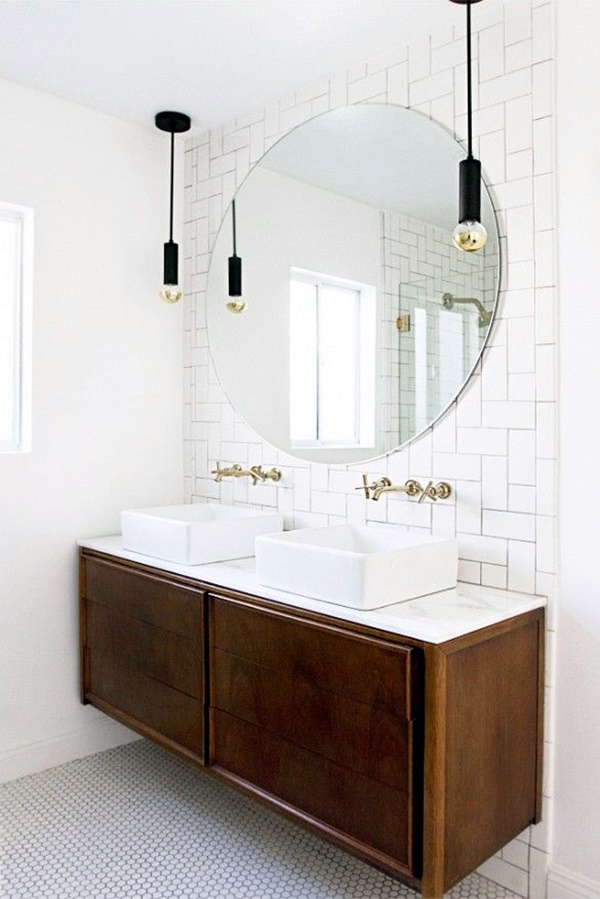 Refreshing Bathroom Mirror Designs (11)