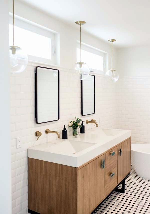 Refreshing Bathroom Mirror Designs (12)