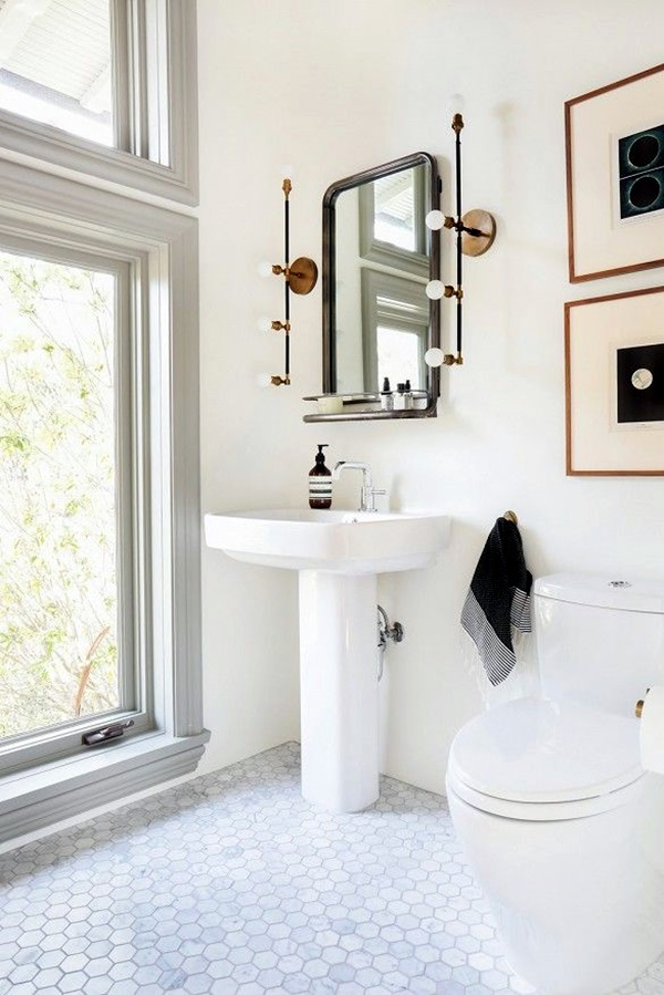 Refreshing Bathroom Mirror Designs (13)