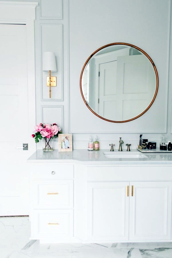 Refreshing Bathroom Mirror Designs (16)