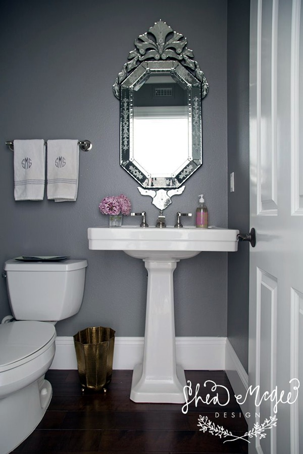 Refreshing Bathroom Mirror Designs (21)