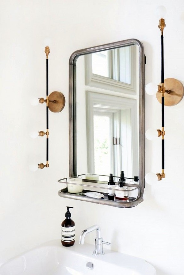 Refreshing Bathroom Mirror Designs (22)