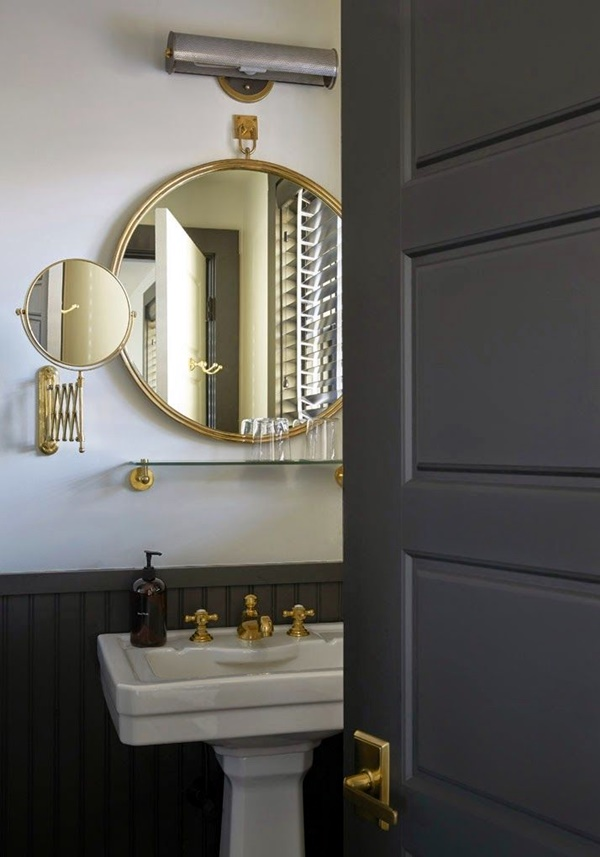 Refreshing Bathroom Mirror Designs (24)