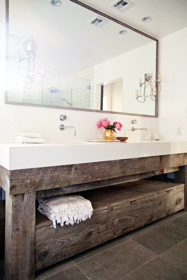 Refreshing Bathroom Mirror Designs (25)