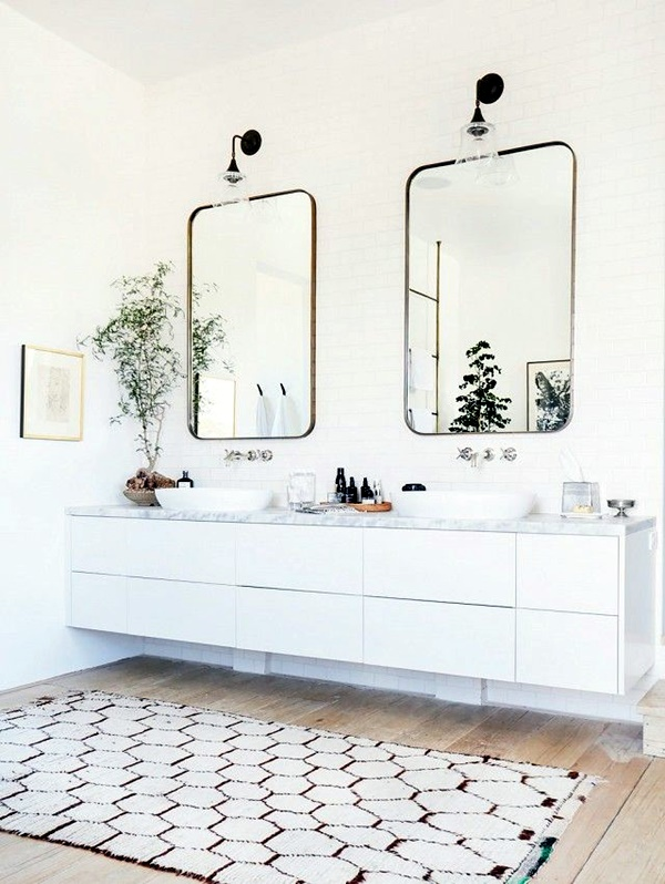 Refreshing Bathroom Mirror Designs (26)
