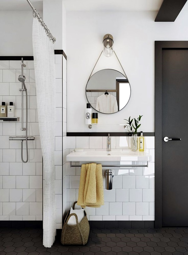 Refreshing Bathroom Mirror Designs (29)