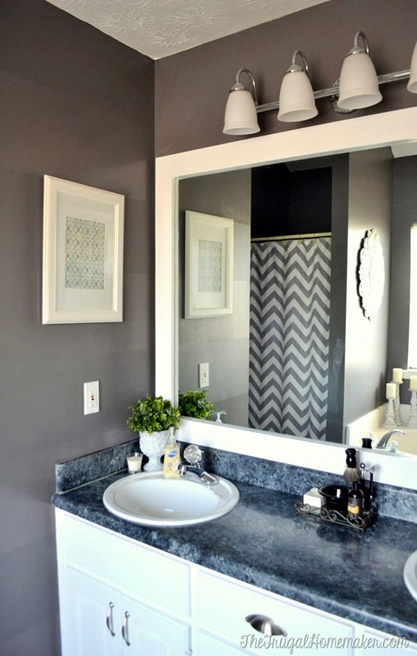 Refreshing Bathroom Mirror Designs (3)