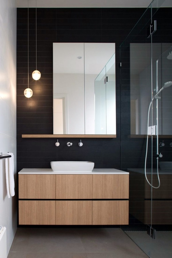 Refreshing Bathroom Mirror Designs (32)