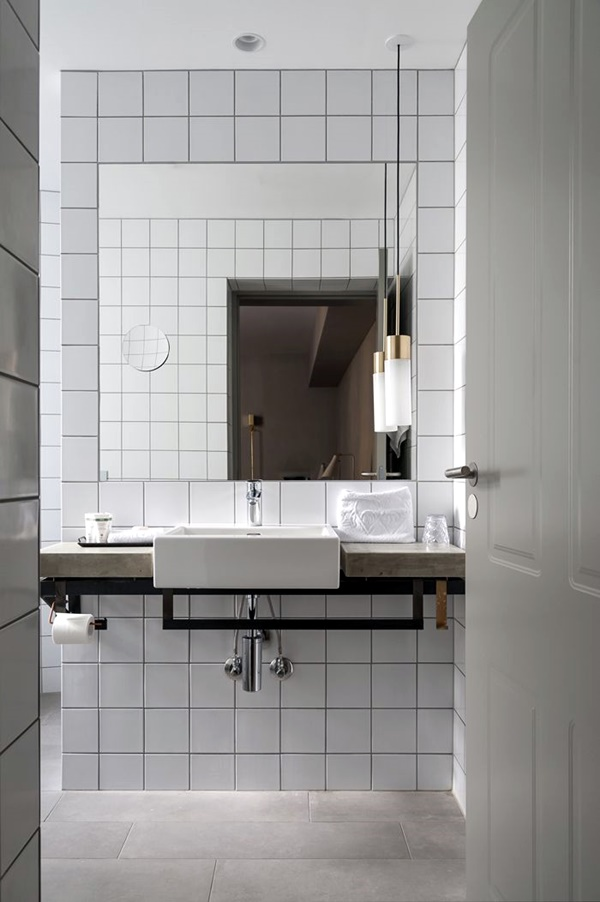 Refreshing Bathroom Mirror Designs (38)