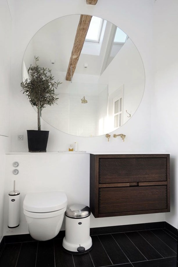 Refreshing Bathroom Mirror Designs (40)