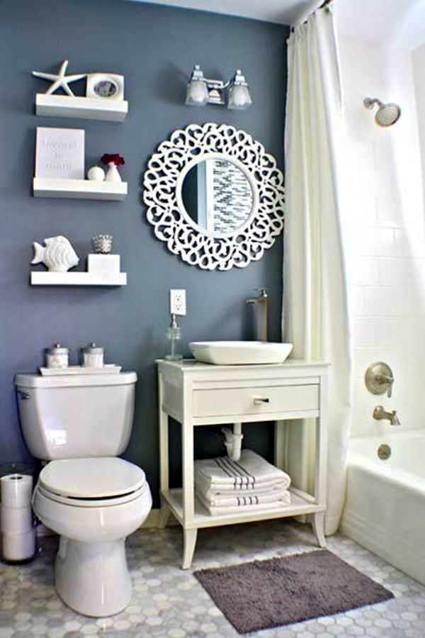 Refreshing Bathroom Mirror Designs (41)