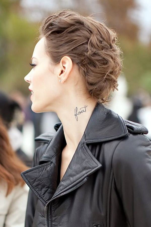 Small and Sexy Neck Tattoos For 2016 (2)