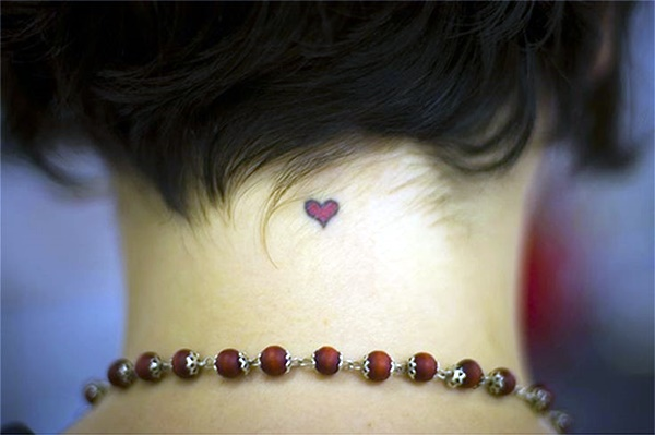 Small Neck Tattoos Ideas