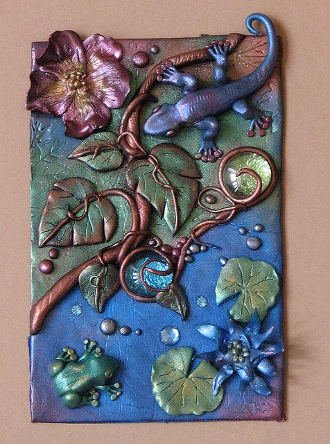 polymer clay art 11