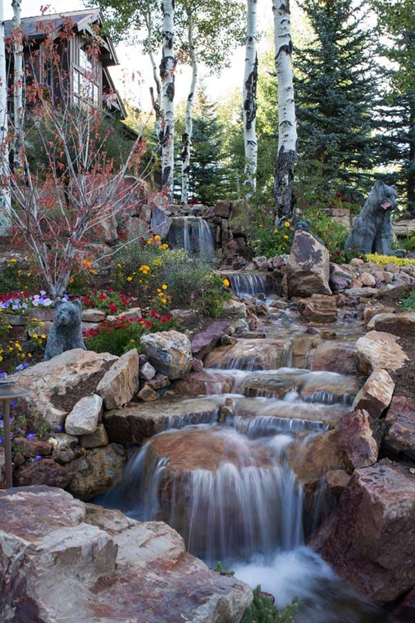 backyard waterfall 23