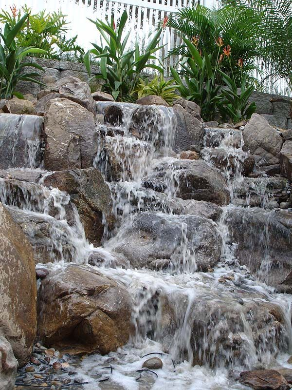 backyard waterfall 8