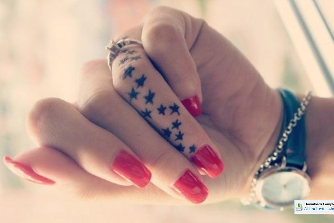 finger tattoo designs fingers always