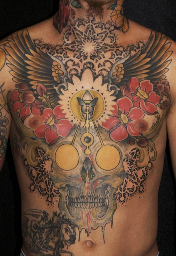 60 Cool & Best Chest Tattoos
