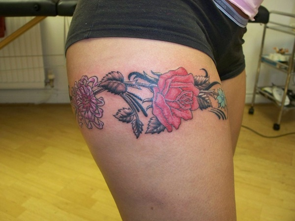 50 Sexy Upper Thigh Tattoos For Girls