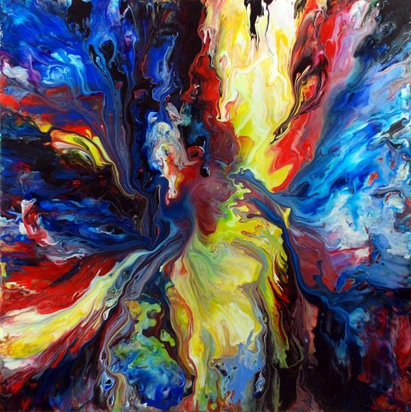 Blending Colors Acrylic Paint Numberedtype