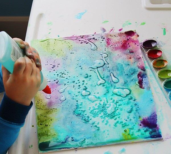 Необычные краски своими руками 86